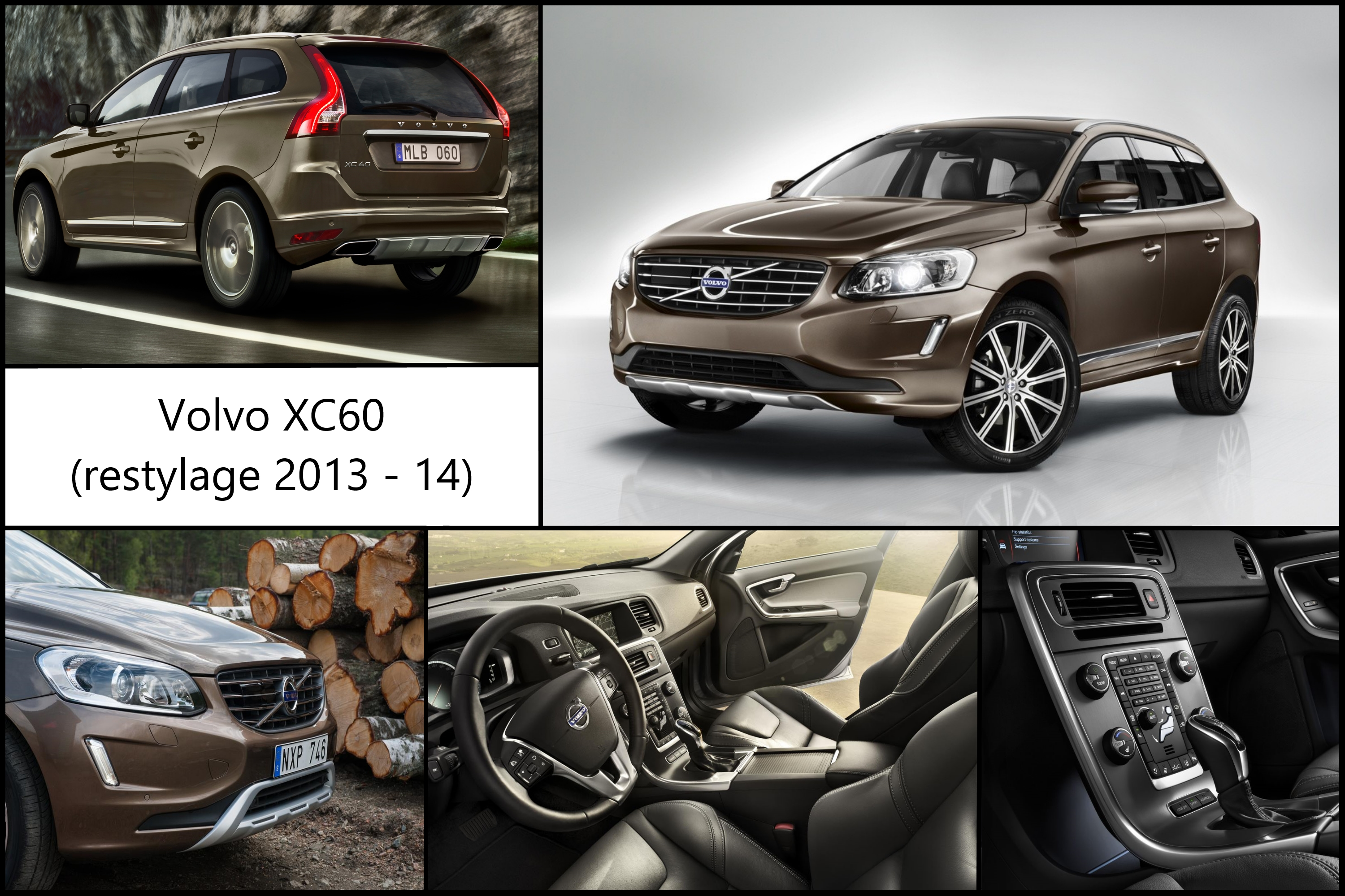 volvo xc60 restylage actu auto france. Black Bedroom Furniture Sets. Home Design Ideas