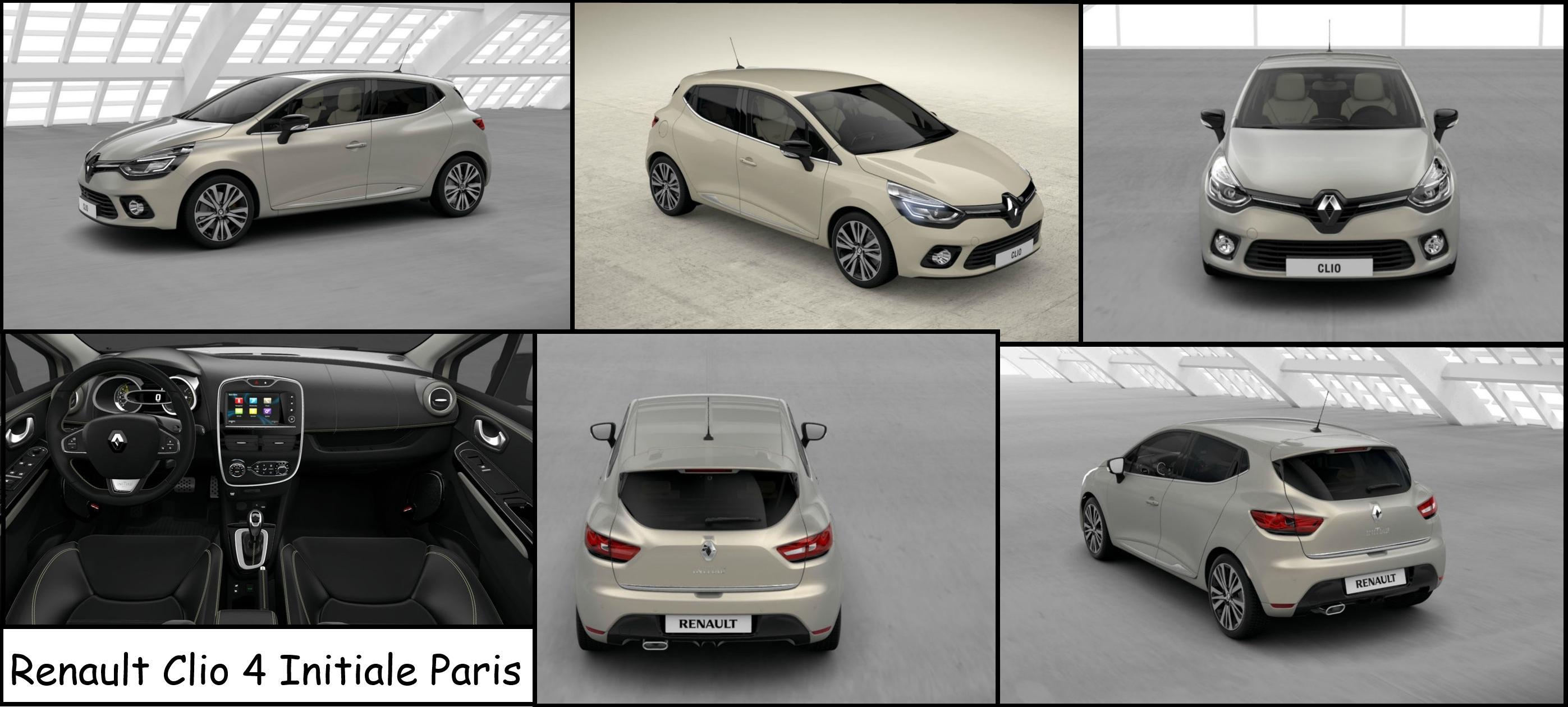 renault clio 4 initiale paris mondial de l 39 automobile de paris 2014. Black Bedroom Furniture Sets. Home Design Ideas